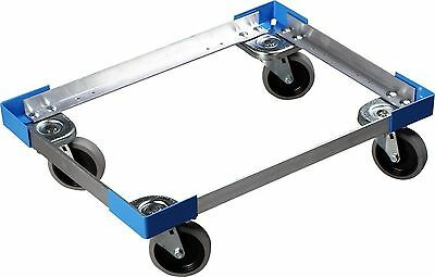 Carlisle Cateraide PC300N End-Loading Food Pan Carrier Dolly Aluminum