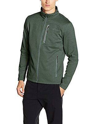 Verde/Duck Grn Heathr (TG. XL) North Face M Canyonlands Full Zip Giacca in Pile,