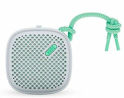 Nude Audio Move Small Wired Portable Speaker for Smartphones & more - Grey/Mint