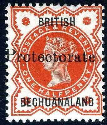 BECHUANALAND-1890 ½d Vermilion.  A lightly mounted mint example Sg 55