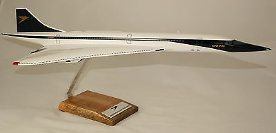 Boac Concorde In 'speedbird' Livery Large 1:100 Scale In Amazing Final Livery