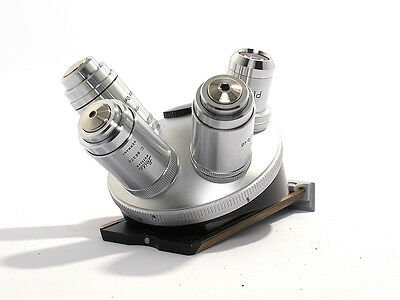 Leitz Orthoplan Microscope Turret - Revolver with 4 objectives