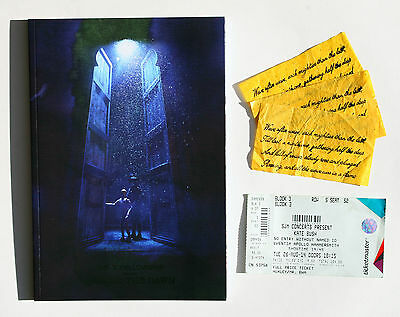 Kate Bush Before The Dawn 'opening Night' - Programme, Ticket, 3 Confetti Pieces