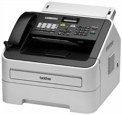 Brother FAX-2840 High Speed Mono Laser Fax Machine  | Fast Free Shipping NEW