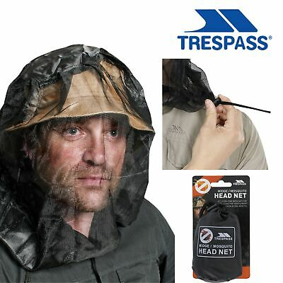 Trespass Midge Mosquito Mosi Insect Bug Head Face Travel Net Protector