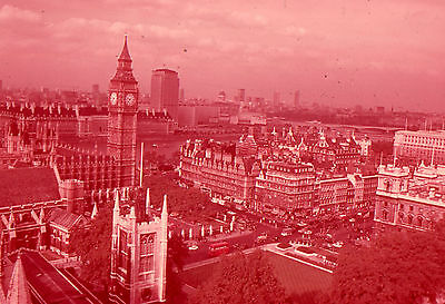 35mm SLIDES : LONDON AT THE HEIGHT OF THE SWINGING 60's : VIEWS & PAGEANTRY