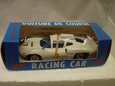 Vintage Strombecker 1/32 Slot Car 12 Volt Motor No. 9535 Am. Gt Coupe #7