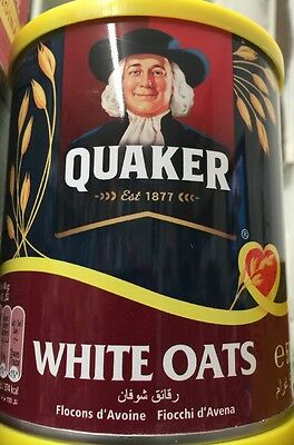 Quaker quick cooking white oats 500g (England) Delicious Cereal