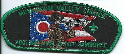 Boy Scout Muskngum Valley Council 2001 Jamboee Jsp OH