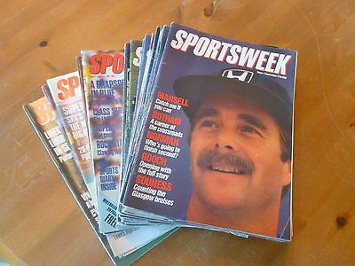 Sportsweek magazine collection