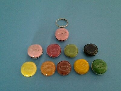 Feves Fresson Publicitaire Serie Complete Macarons Porte-Cles 2008