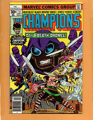 Champions #15 Ghost Rider Black Widow Nm