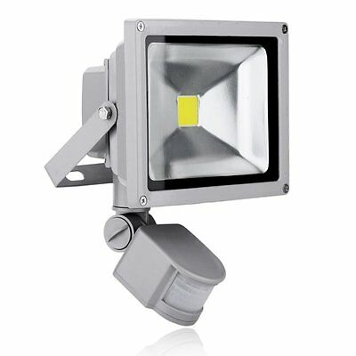 New PIR Motion Sensor LED Floodlight 10W 20W 30w 50W Security Flood Light Sensor