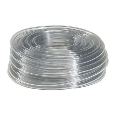 "100 Feet of 5/16"" I.D. Clear Vinyl Tubing, High Quality Food Safe, FDA Approved"