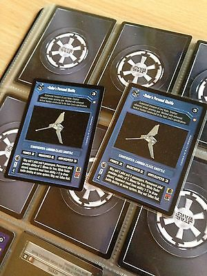 Star Wars CCG SPECIAL EDITION LOT by Decipher DS (Not Complete)