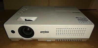Sanyo PLC-XW60 Projector - 1104 Lamp Hours Used