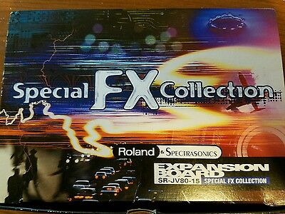 Roland Special FX Collection SR-JV80-15 Expansion Board JV 1080 2080 XV 5080