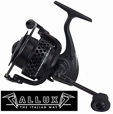 Mulinello Spinning/bolognese/inglese Allux Alcedo Magnesio Ultra Hd Hs