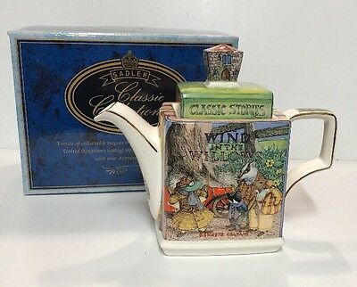 James Sadler Classic Collection Wind In The Willows Teapot