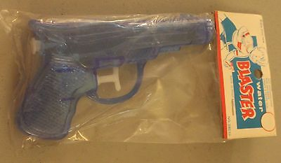 "Water Pistol | Squirt Toy  Vintage NOS ""Classic"" Shape Blue Blasters c. 1960's"