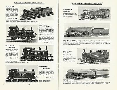 W&h Models. Scale Model Equipment & Accessories Catalogue. October 67. Oo N Ref'