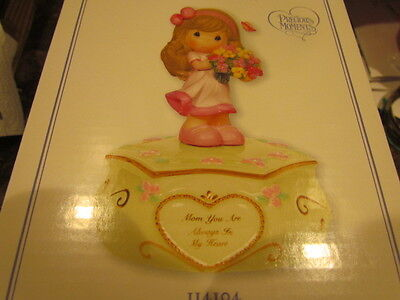 Precious Moments Mom You Are Always In My Heart Musical Figurine