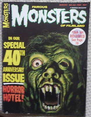 Famous Monsters Of Filmland, No. 40