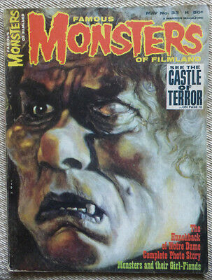 Famous Monsters Of Filmland No. 33, May 1965