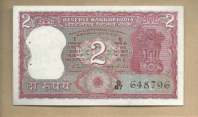 India ND 2 Rupees P 53d Ciculated