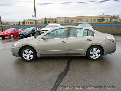 2008 Nissan Altima 4dr Sedan I4 CVT 2.5 S ULEV 4dr Sedan I4 CVT 2.5 S ULEV Automatic Gasoline 2.5L 4 Cyl BROWN
