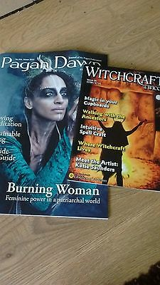 witchcraft magazine and pagan dawn latest copy
