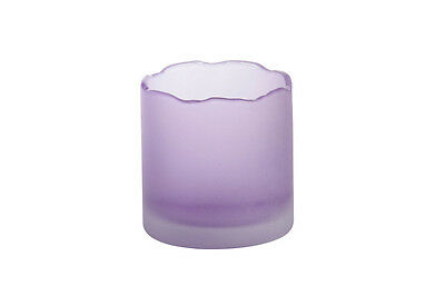 YANKEE CANDLE Tranquility porta votive holder purple
