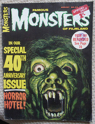 Famous Monsters Of Filmland, No. 40, 1966