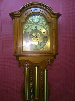 ***Antique & Beautiful Westminster Wall Clock 3weights *FHS - AMS**