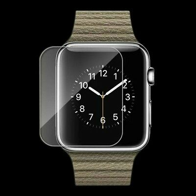 New For Apple Watch Premium Slim Tempered Glass Film Screen Protector 38mm 42mm