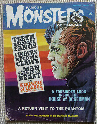 Famous Monsters Of Filmland, August 1963