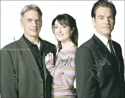 Ncis Tv Cast - Photograph Signed With Co-Signers