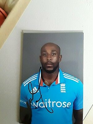 England Cricketer Michael Carberrys Hand Signed Autograph