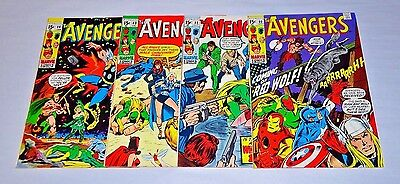 Avengers 80 81 83 84 HIGH GRADE Bronze Age Lot Capital City Collection