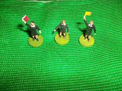 Subbuteo  Referee + 2 Linesmen   In Very  Good Condition