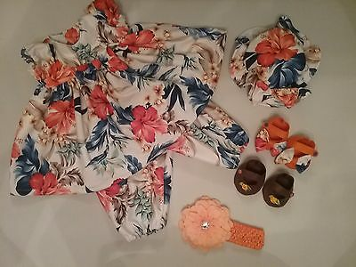 "6 piece set truely beautiful 20""Dolls clothes"