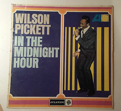 "Wilson Pickett In The Midnight Hour 12"" Lp vinyl Record"