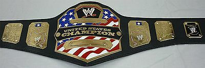 REPLICA Wrestling WWE US CHAMPIONSHIP Belt *RELEATHERED* ADULT SIZE / METALL wcw