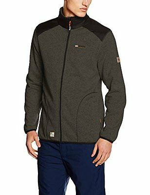 (TG. X-Large) Grigio (D.GREY/BLACK) Geographical Norway Tuteur Men, Giacca Uomo,