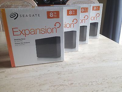 Disque dur externe Seagate Expansion 8To 8 To 8000 Go 8TB 8 tb USB 3.0 NEUF