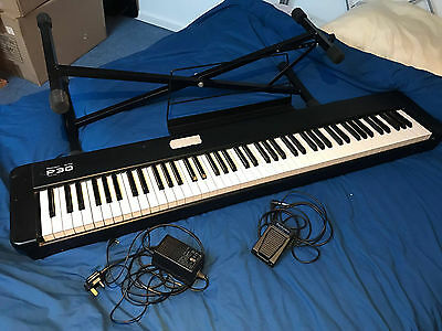 Technics SX P30 Digital Stage Piano with stand, pedal and power supply