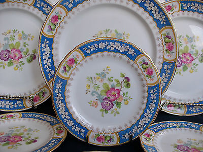 SUTHERLAND CHINA, H&M- EVESHAM (c1947+) BREAD & BUTTER PLATE(s)-EXCELLENT! GILT!