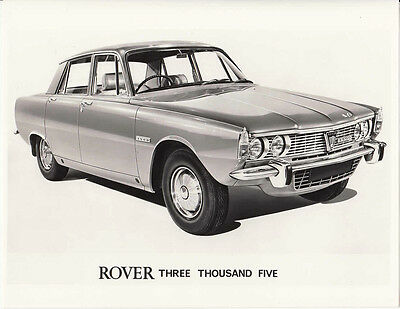 Rover Three Thousand Five Hundred P6 Series, Period Photograph.
