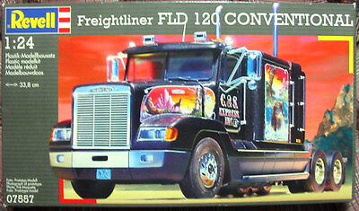 *NEW* Vintage Revell Freightliner FLD 120 Conventional Model Truck Kit 1/24