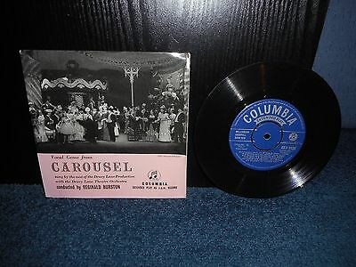 "7"" 45rpm EP Drury Lane Theatre Orchestra / Reginald Burston - Carousel"